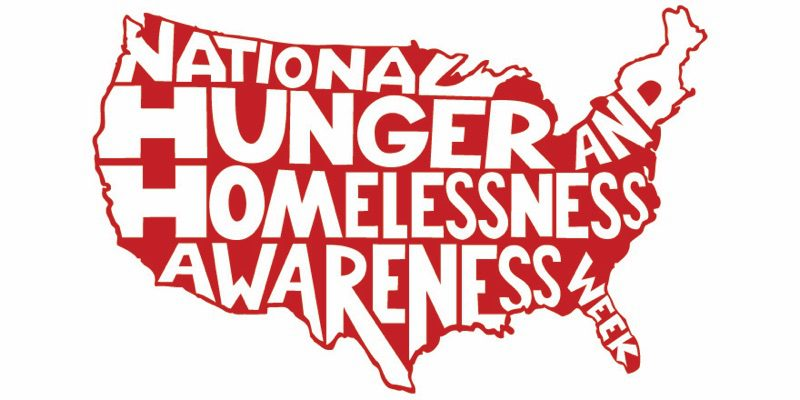 Huger and Homelessness Awareness Week