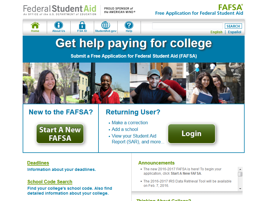Now is the Time to Complete Your FASFA